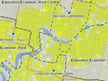 Geo-Targeting Retail Locations Defined With Postal Codes