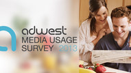 {AdWest Media Usage Study 2013}